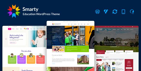 Smarty v3.1 - Education WordPress Theme for Kindergarten