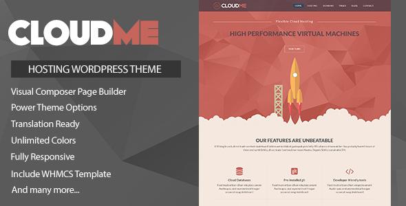 Cloudme Host v1 1 1 - WordPress Hosting Theme + WHMCS