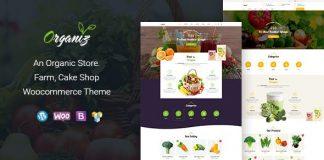 Organiz v1.6 - An Organic Store WooCommerce Theme