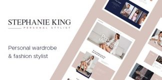 S.King v1.2.0 - Personal Stylist and Fashion Blogger