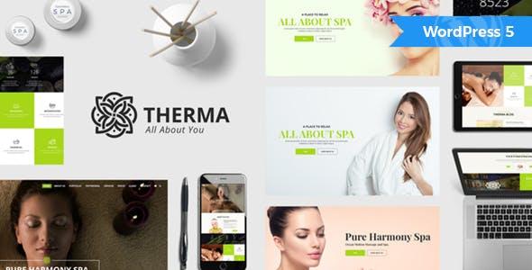 Therma v1.4.1 - Spa, Beauty, Cosmetic WordPress Theme