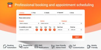 Bookly Booking Plugin v17.2 - Responsive Appointment Booking