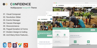 Confidence v3.2.7 - Multipurpose Nonprofit Theme
