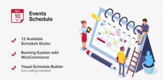 Events Schedule v2.5.12 - Events WordPress Plugin