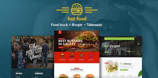 Fast Food v1.1.1 - WordPress Fast Food Theme