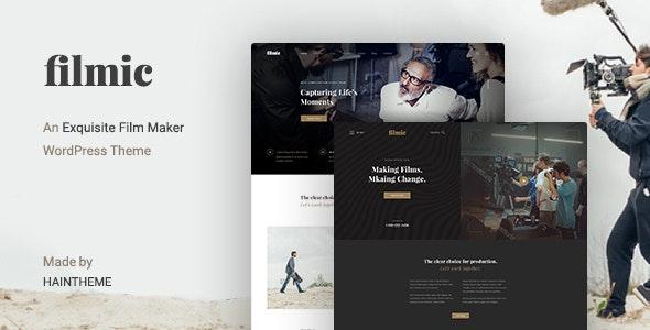 Filmic v2 3 - Movie Studio & Film Maker WordPress Theme