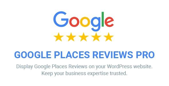 Google Places Reviews Pro v1 8 - WordPress Plugin