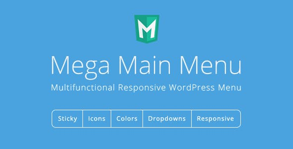 Mega Main Menu v2.2.0 - WordPress Menu Plugin