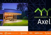 Axel v1.0.5 - Single Property Real Estate Theme