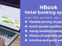 HBook v1.8.10 - Hotel booking system - WordPress Plugin