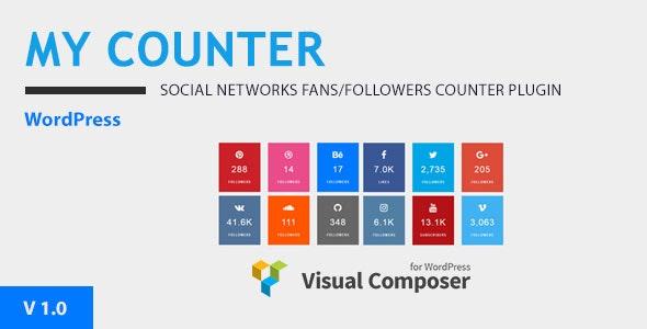 MY-Counter v1 0 - Visual Composer Addon & WordPress Widget