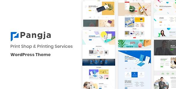 Pangja v1 0 8 - Print Shop & Printing Services WordPress theme