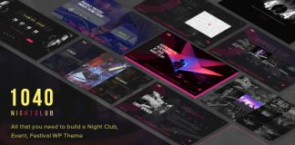 1040 Night Club v1.2 - DJ, Party, Music Club Theme