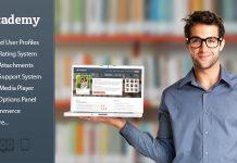 Academy v2.1.9 - Learning Management Theme