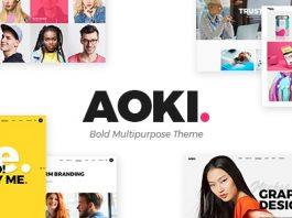 Aoki v1.4 - Creative Design Agency Theme