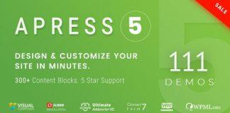 Apress v5.0.3 - Responsive Multi-Purpose Theme