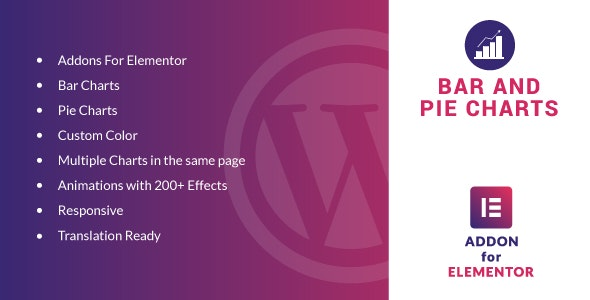 Bar and Pie Charts for Elementor v1.0 - WordPress Plugin