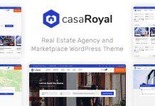 CasaRoyal v1.1.3 - Real Estate WordPress Theme