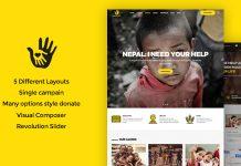 CharityHeart v1.6 - Charity, Crowdfunding, Nonprofit Theme