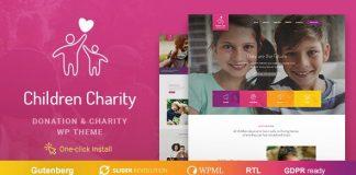 Children Charity v1.0.9 - Nonprofit & NGO WordPress Theme with Donations