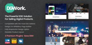 DGWork v1.8.3 - Powerful Responsive Easy Digital Downloads