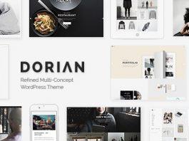 Dorian v2.0 - Refined Multi-Concept WordPress Theme
