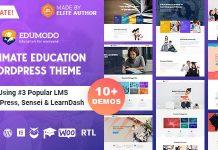 Edumodo v2.6.0 - Education WordPress Theme