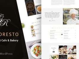 GoodResto v1.9 - Restaurant WordPress Theme + Woocommerce