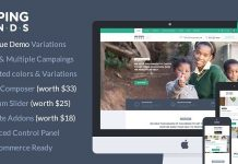 HelpingHands v2.7.2 - Charity/Fundraising WordPress Theme
