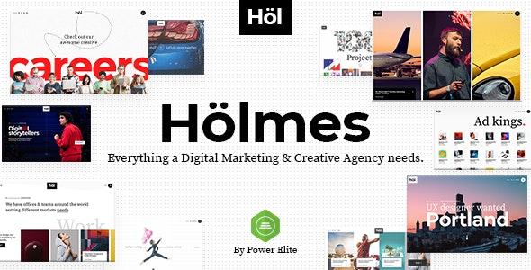 Holmes v1 1 3 - Digital Agency Theme for WordPress