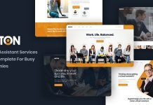 Inston v1.0 - Virtual Assistant Services HTML Template