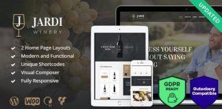 Jardi v1.7.1 - Winery, Vineyard & Wine Shop WordPress Theme