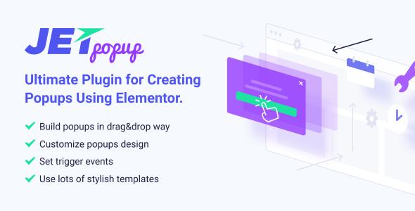 JetPopup v1.2.8.1 - Popup Addon for Elementor