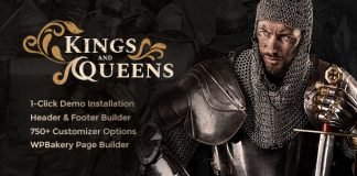 Kings & Queens v1.1.1 - Historical Reenactment Theme
