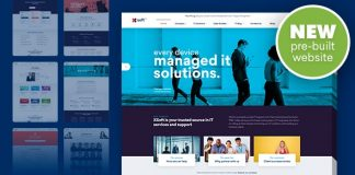 Nanosoft v1.1.9 - WP Theme for IT Solutions and Services Company