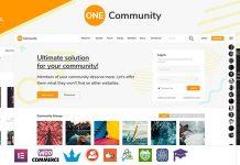 OneCommunity v3.3.3 - BuddyPress Nouveau Community Theme