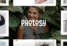 Photosy v1.5 - Photography WordPress Theme