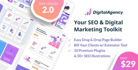SEO WP v2 0 1 - Online Marketing, SEO, Social Media Agency