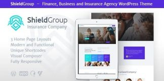ShieldGroup v1.1.2 - An Insurance & Finance WordPress Theme