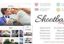 Shootback v1.1.4 - Retina Photography WordPress Theme