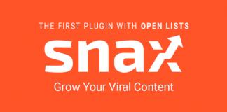 Snax v1.46 - Viral Front-End Uploader