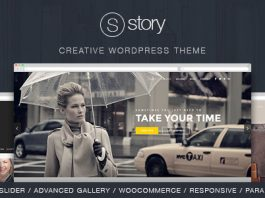 Story v1.9.9 - Creative Responsive Multi-Purpose Theme