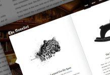 The Novelist v1.5.0 - Responsive WP Theme for Writers