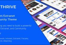 Thrive v3.1.4 - Intranet & Community WordPress Theme