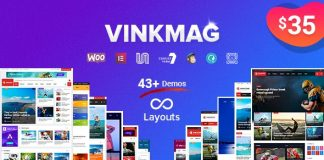 Vinkmag v2.7 - Multi-concept Creative Newspaper