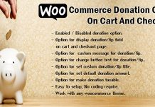 WooCommerce Donation Or Tip On Cart And Checkout v1.6