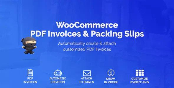 WooCommerce PDF Invoices & Packing Slips v1.1.5