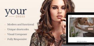 Your Dress v1.4.1 - Clothes Rental Services WordPress Theme