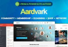 Aardvark v4.9 - Community, Membership, BuddyPress Theme