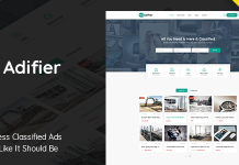Adifier v3.8.1 - Classified Ads WordPress Theme